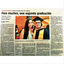 An article Talia produced for El Sentinel.