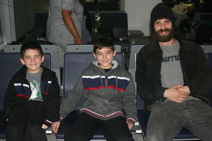two of the Israeli-American kids and Zach